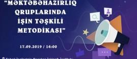"""""""Məktəbəhazırlıq qruplarında işin təşkili metodikası"""" proqramına qeydiyyat başladı"""