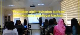 """""""Prometan ağıllı lövhədən istifadə"""" təlim kursuna qeydiyyat başladı"""
