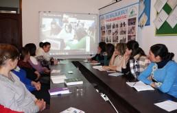 Şəmkir psixoloqları üçün skayp-seminar / 9 mart 2017
