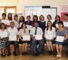 """«İnklüziv siniflərdə təlimin təşkili"""" mövzusunda seminar iştirakçılarına sertifikatları təqdim olundu"""