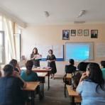 """""""Refleksiv müəllim"""" seminarı Zaqatalada"""