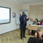 """TİPİİ-də """"Social Studies in Azerbaijan"""" layihəsi çərçivəsində www.socialstudies.az saytının təqdimatı"""