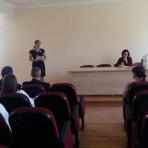 """""""Refleksiv müəllim"""" seminarı Cəlilabadda"""