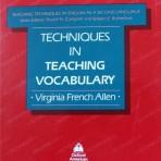 İngilis dili müəllimləri üçün: TECHNIQUES IN TEACHING VOCABULARY (IX fəsil)
